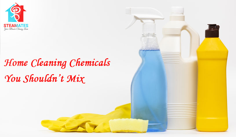 Home Cleaning Chemicals You Shouldn't Mix