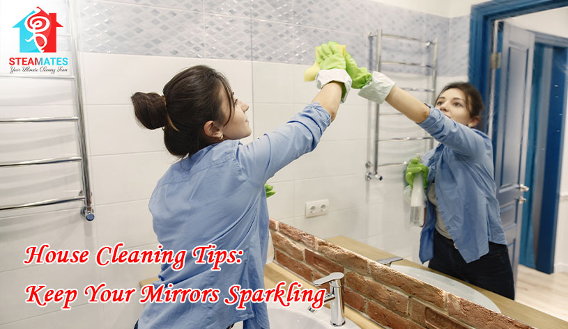 House Cleaning Tips Keep Your Mirrors Sparkling