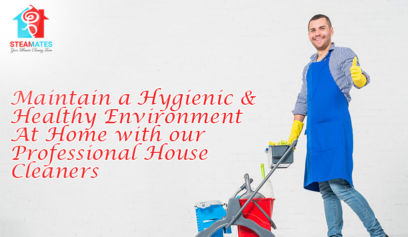 Maintain a Hygienic & Healthy Environment At Home with our Professional House Cleaners